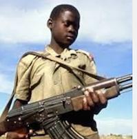 Les enfants soldats d'Afrique