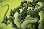 un monstre mythologie à plusieurs têtes