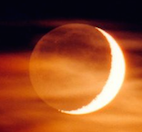 La vieille lune ou la lueur pâle