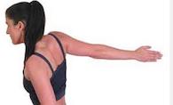 Étire les pectoraux et les biceps