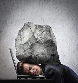 Votre source d'anxiété-un poids